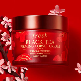 Chinese new year Black Tea Corset Cream