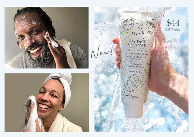 Limited Edition Soy Face Cleanser 200ml.