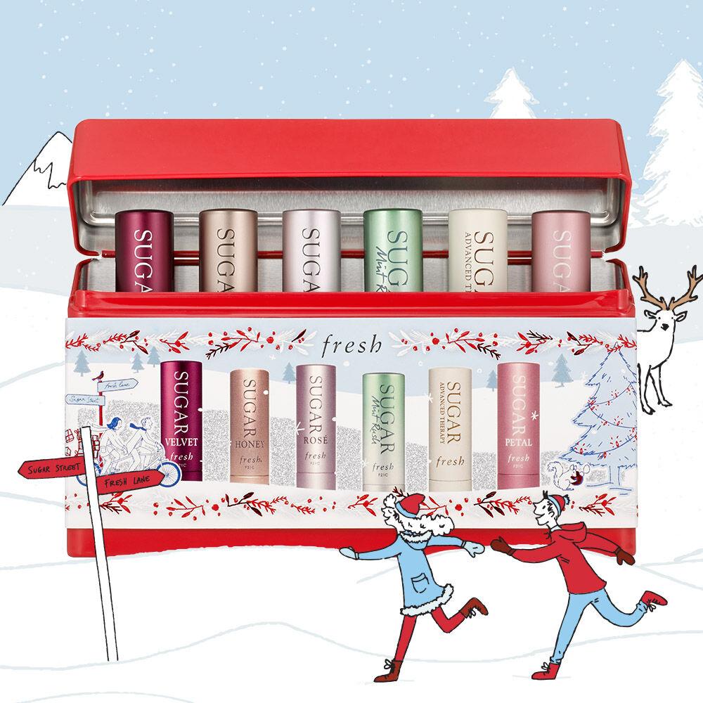 Sugar Lip Best Sellers Tin Gift Set