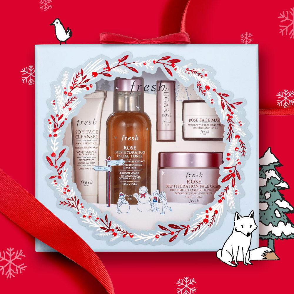 Rose Hydration Skincare Gift Set