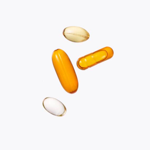 Vitamins C, E & B5