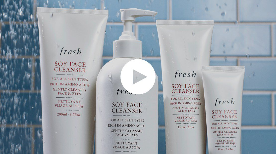 YouTube video on how to use Soy Face Cleanser