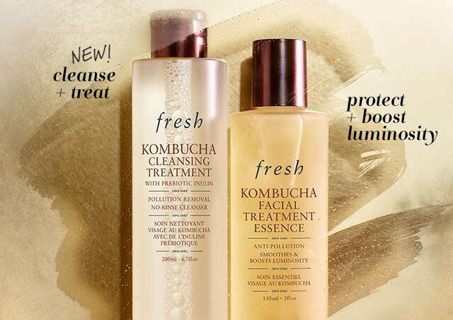 Kombucha Facial Essence and Kombucha Cleansing Treatment
