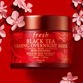 Chinese new year Black Tea Overnight Mask