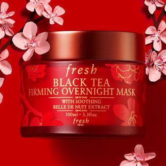 Chinese new year Black Tea Overnight Mask