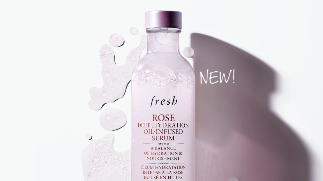 Rose Deep Hydration Oil-Infused Serum