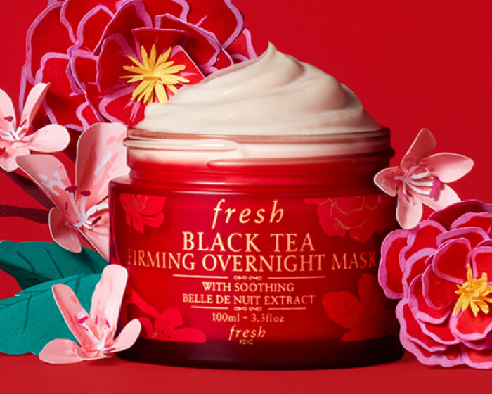 Chinese new year Black Tea Firming Overnight Mask