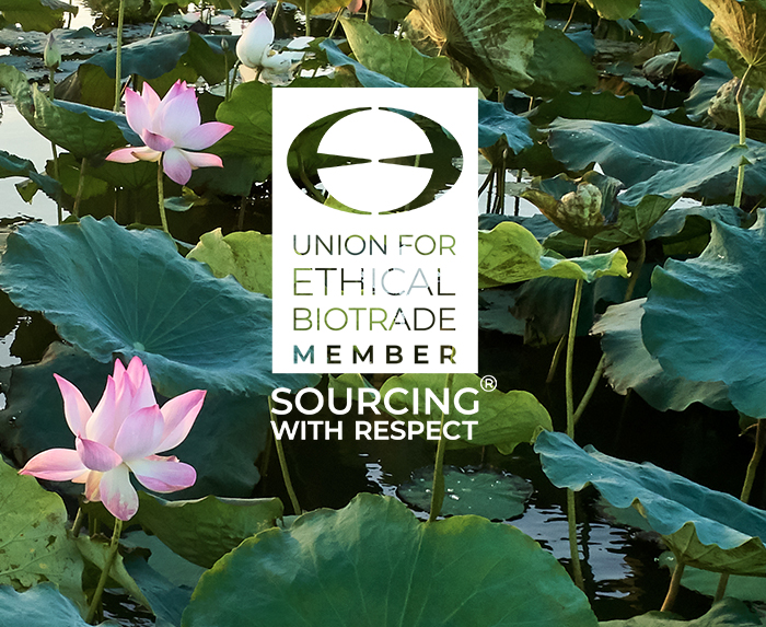 Union For Ethical Bio Trade Member. Sourcing with Respect