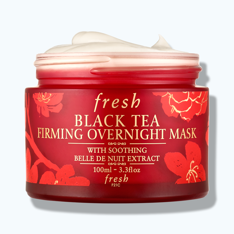 CNY Limited Edition Black Tea Firming Overnight Mask