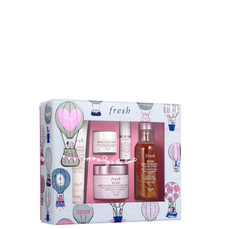 Rose Deep Hydration Ritual Gift Set