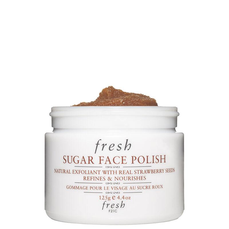 Fresh Sugar Face Polish Exfoliator For Smooth 125g Radiant