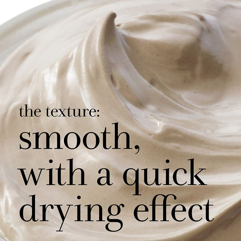 the texture: smooth, with a quick drying effect