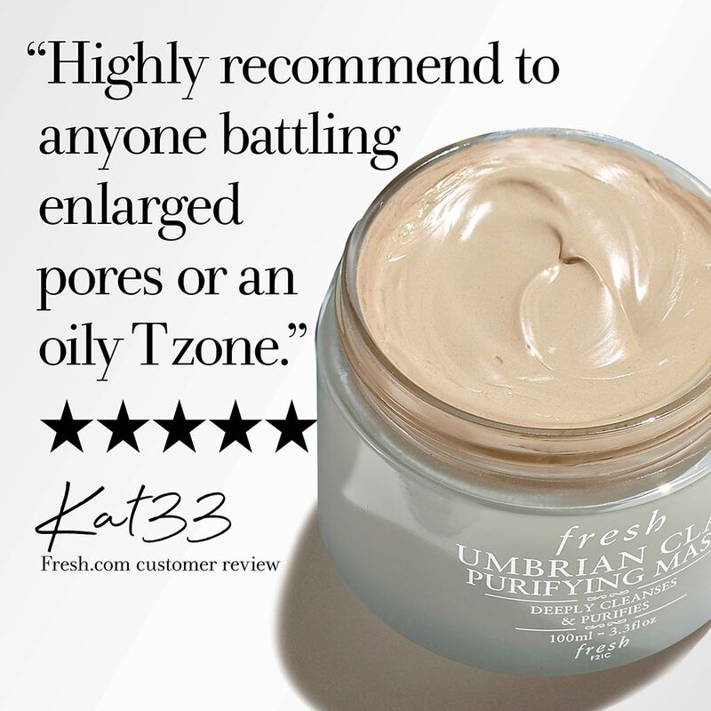 """Highly recommend to anyone battling enlarged pores or an oily T zone."" five stars, Kat33 Fresh.com customer review"