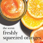 the scent: freshly squeezed oranges