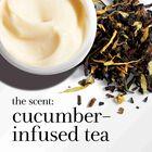 the scent: cucumber-infused tea