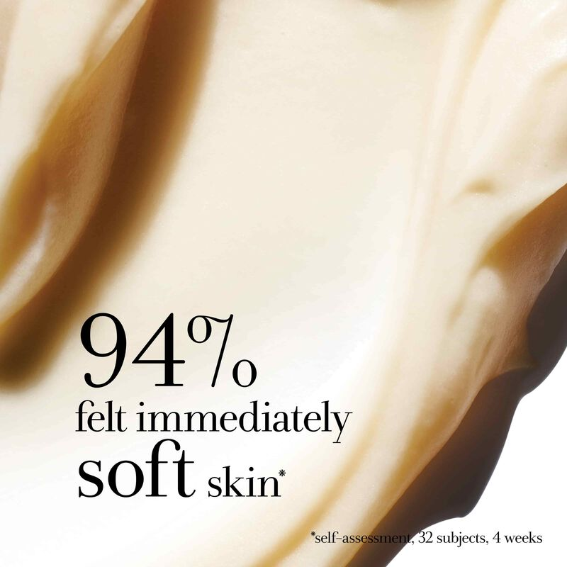 94% felt immediately soft skin *self-assessment, 32 subjects, 4 weeks