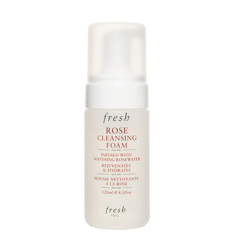 Rose Cleansing Foam Face Wash