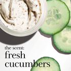 the scent: fresh cucumbers