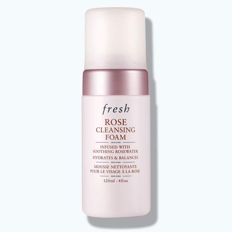 Rose Cleansing Foam Face Wash