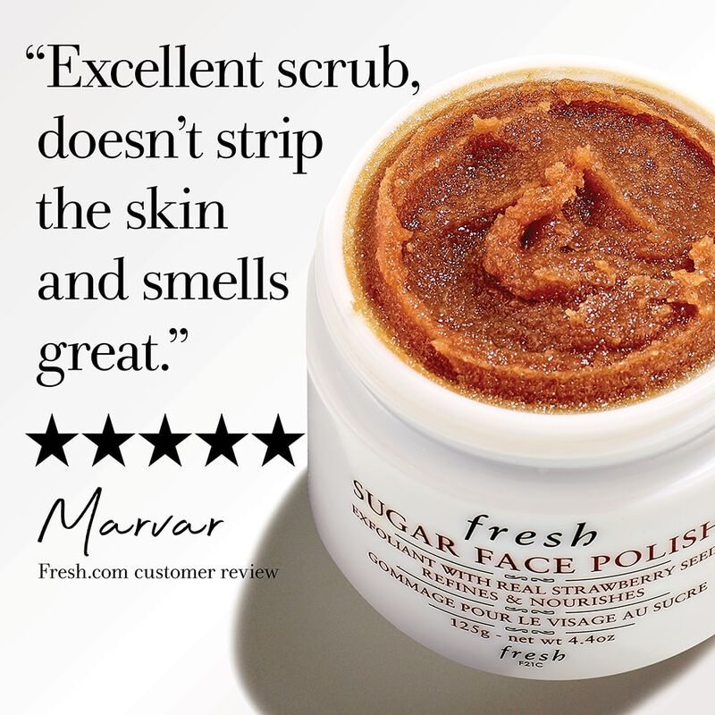 """Excellent scrub, doesn't strip the skin and smells great."" 5 stars, Marvar Fresh.com customer review"