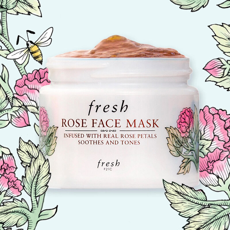 Limited-Edition Rose Face Mask