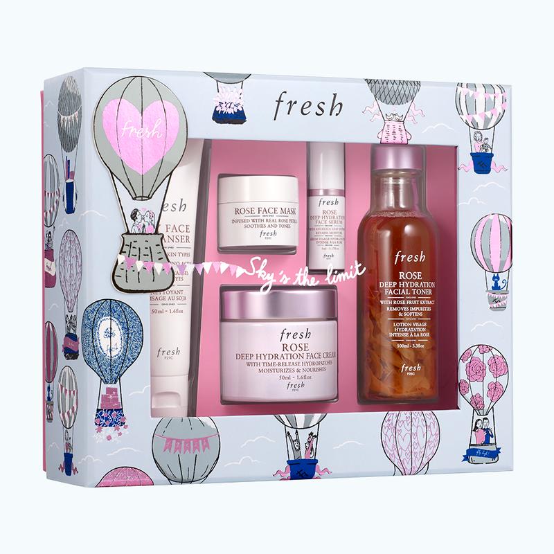 Rose Deep Hydration Ritual Gift Set