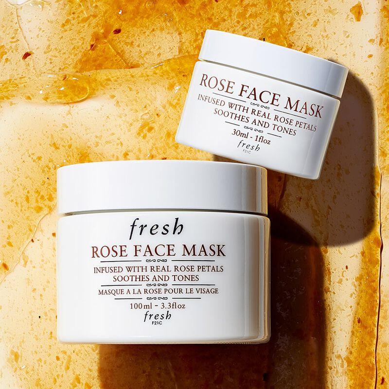 Rose Face Mask