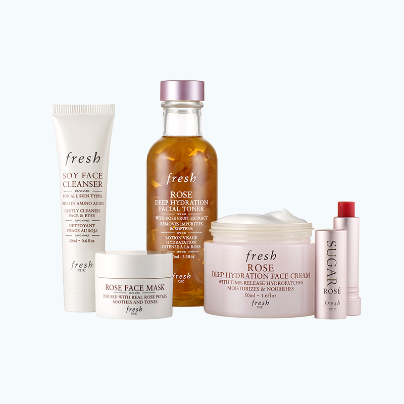 Rose Hydration Skincare Set