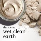 the scent: wet, clean earth