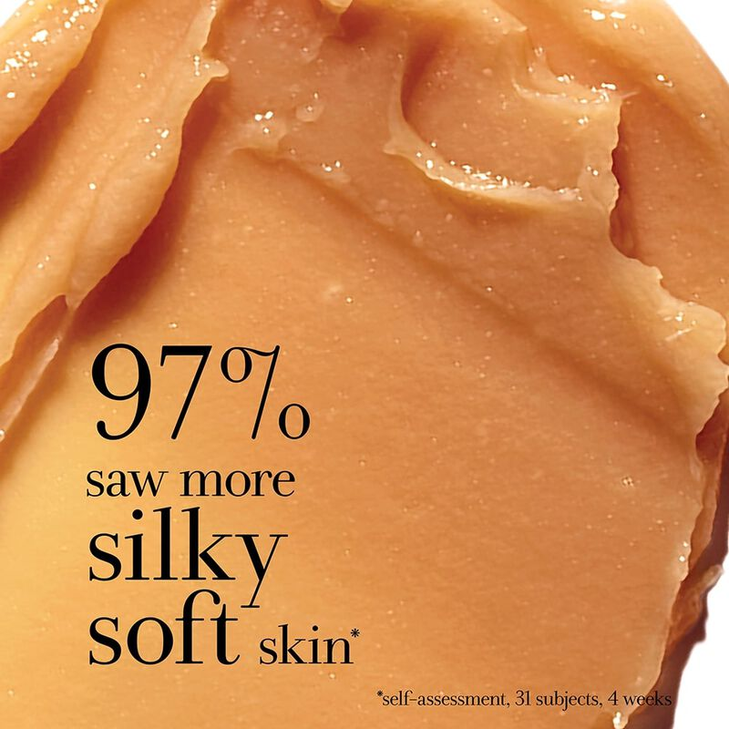 97% saw more silky soft skin* self assessment, 31 subjects 4 weeks