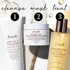 1. Cleanse, 2 Mask, 3 Treat