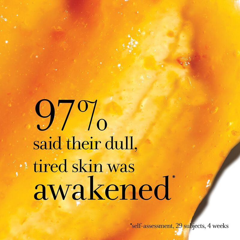 97% said their dull, tired skin was awakened *self-assessment, 29 subjects, 4 weeks