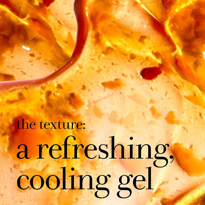 the texture: a refreshing cooling gel