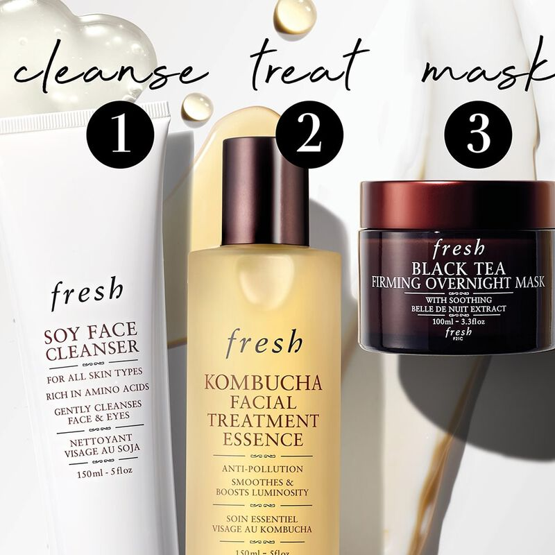 1 cleanse, 2 treat, 3 mask