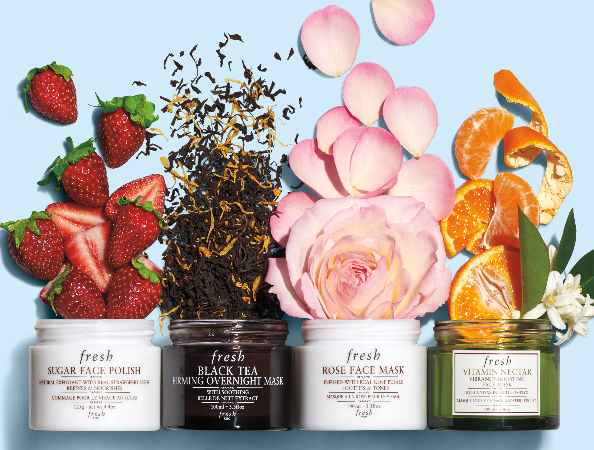 Fresh - Skin care, Perfumes and Fragrances, Makeup