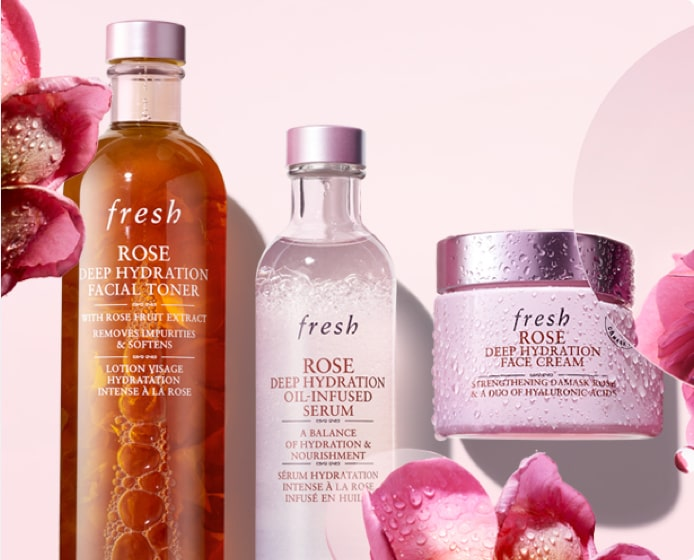 Rose Hydration Routine