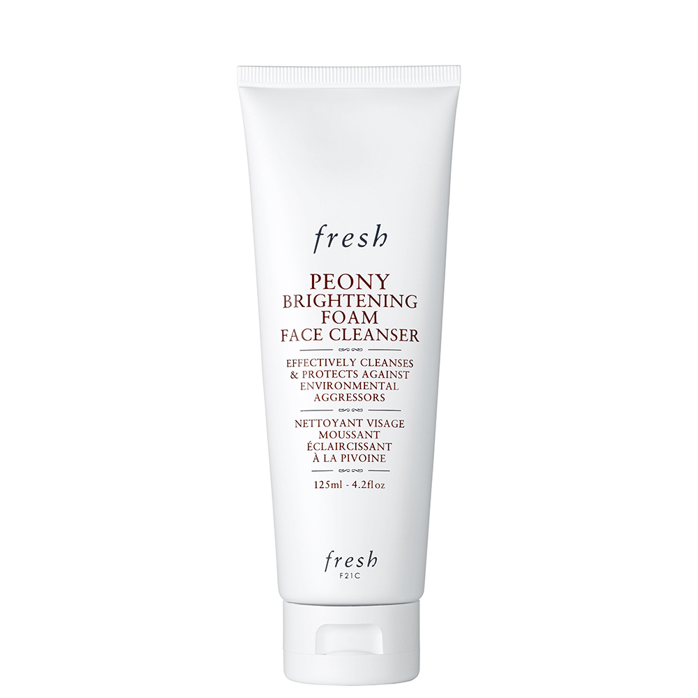 Peony Brightening Foam Face Cleanser