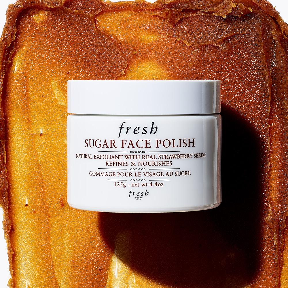 Fresh Sugar Face Polish Exfoliator for Smooth (125g