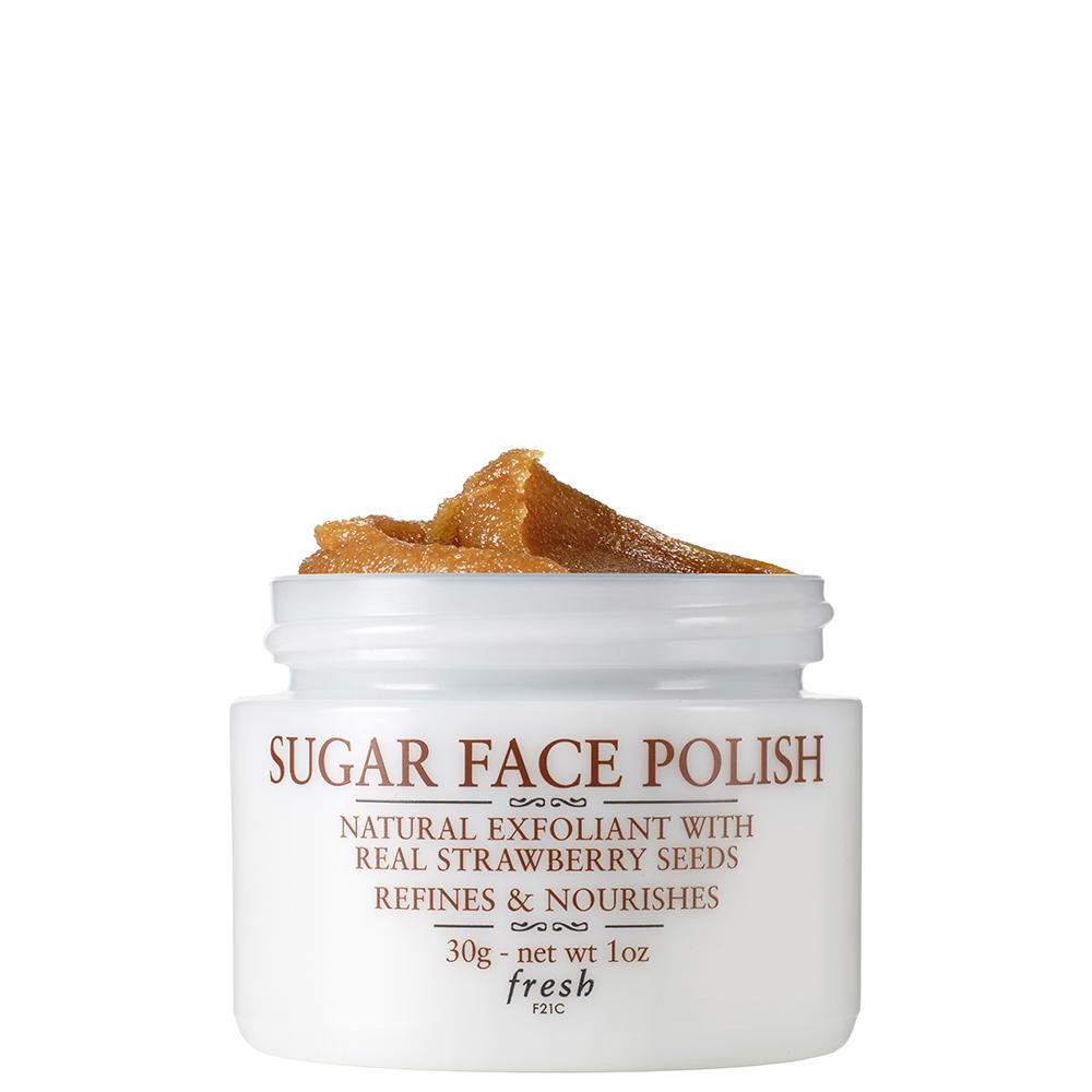 Fresh Sugar Face Polish Exfoliator For Smooth 30ml Radiant